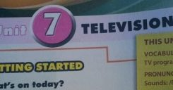 Getting started – Unit 7 : Television – Tiếng Anh 6 mới
